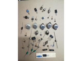 Stock Pieces Vintage (1001 semiconducteurs