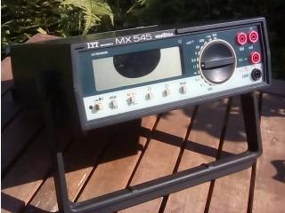 Afficheur pour Metrix MX545