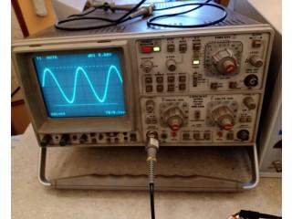 Oscilloscope Hameg et Générateur BF