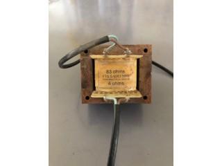 Transformateurs ligne 100v, 50W, 4 ohms.